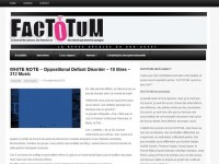 Factotum – Review